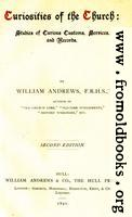 Title Page: Andrews' Curiosities