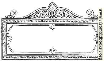 Ornate Rectangular Frame