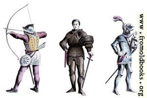 Three knights from the 15th century