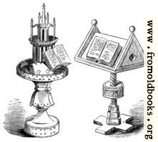 Reading Desks. MS. Bodleian Library.