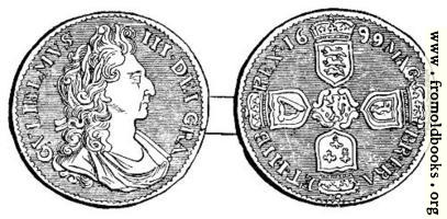 Shilling, William III