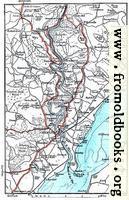 Map: River Wye, Chepstow, etc.