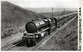 "1.—""Royal Scot"" train, near Shap summit, Engine No. 6134 ""Samson"""