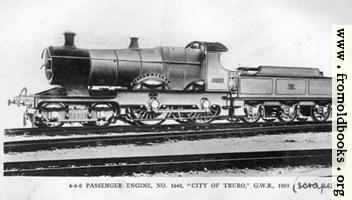 "4-4-0 Engine ""City of Truro"""