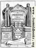 Title Page, Pentateuch of Printing