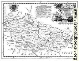 Antique Eighteenth-Century Map of Berkshire