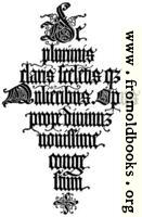 147.—Italian Blackletter Title-Page.  Jacopus Foresti, 1497.