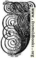 German Gothic Initials - Swirly Fraktur Blackletter Initial Letter J