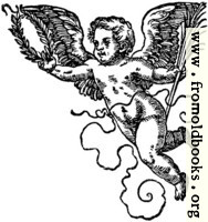68b.—Printer's Mark Detail: Jost Ammon Cherub 1