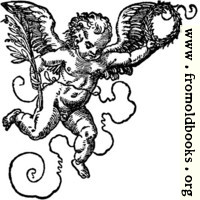 68b.—Printer's Mark Detail: Jost Ammon Cherub 2