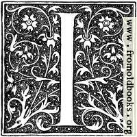Decorative initial letter I