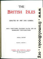 Title Page, The British Isles (Vol 1)