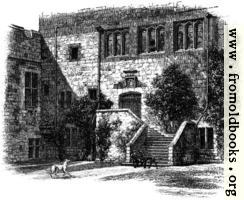 Courtyard, Naworth Castle