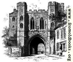 Edgar's Gateway, Worcester