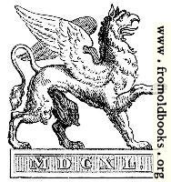 Printer's Mark: Gryphon