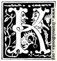 "Decorative initial letter ""K"