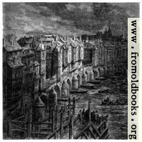 London Bridge in 1694