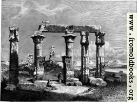 Colonnade of Medamot at Thebes