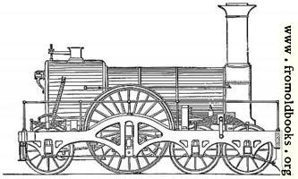Great Western express engine