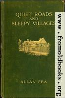 "Front Cover, Fea ""Quiet Roads and Sleepy Villges"", McBride, Nast & Co., New York, 1914"
