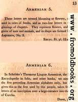 Page 13: Armenian (English Description)