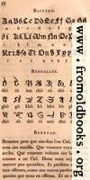 Page 18: Bastard; Bengallee (Bengali)?; Berryan