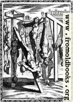 1.—Martyrs suspended by one or both feet, by the arms with heavy weights attached to the feet; crucified; Christian women hung up by the hair