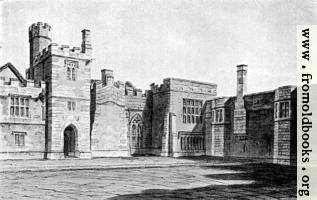 25.  Haddon Hall, Derbyshire