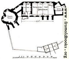 19. Stokesay Castle, Shropshire (cir. 1240-90).