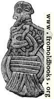Figure of Christ with Heathen Symbols.