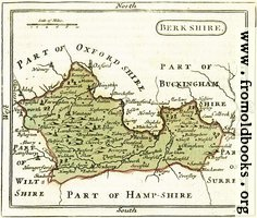 The Map of Berkshire