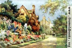 The Cottages, Worcester College Gardens