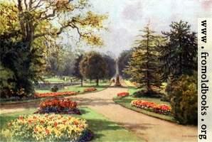 In the Jephson Gardens, Leamington