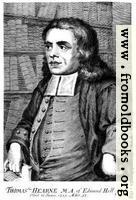 Thomas Hearne M.A. of Edmund Hall Oxon.