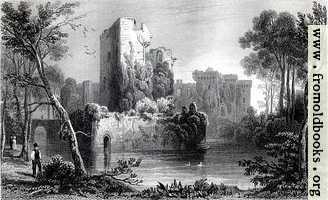 Plate 15.—Ragland Castle