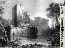 Plate 15.—Ragland Castle (Wallpaper Edition)