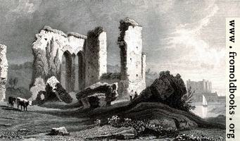 Plate 48.—Remains of the Priory at Havorfordwest, Pembrokeshire.