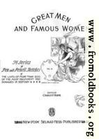 Title Page, Great Men and Famous Women