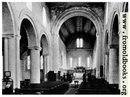 43. St. Margarets at Cliffe, Kent, with its Normon clerestory [interior view]