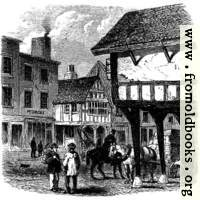 Ancient Half-Timbered Houses, Foregate Street