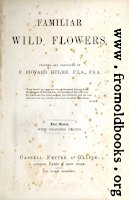 Title Page, Wild Flowers Series One