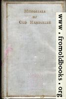 Front Cover, Memorials of Old Hampshire
