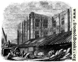 Sketch of the Decorations of the unfinished South Wing of the New Houses of Parliament.