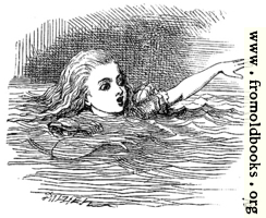 Alice Swimming