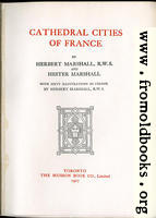 Title Page from Cathedral Cities of France