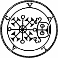 62. Seal of Volac, Valak, or Valu., from The Goetia: The Lesser Key of Solomon the King (1904)