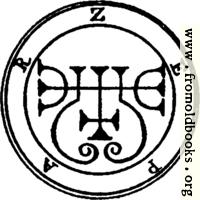 16. Seal of Zepar.