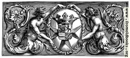 Heraldic chapter head