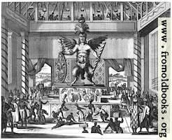 Vitzlipuztli, God of the Mexicans