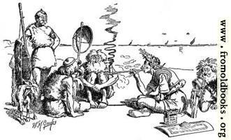Cæsar treating with the Britons